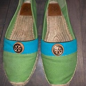TORY BURCH ESPADRILLES SIZE 9.5
